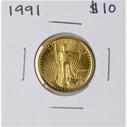1991 $10 American Gold Eagle Coin