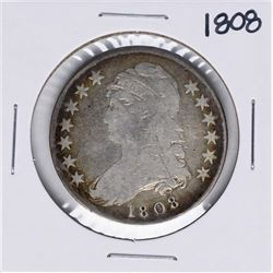 1808 Capped Bust Half Dollar Coin