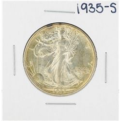 1935-S Walking Liberty Half Dollar Coin