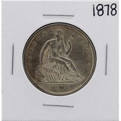 1878 Liberty Seated Half Dollar Coin