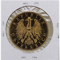 1929 Austria 100 Schilling Gold Coin