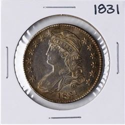 1831 Capped Bust Half Dollar Coin Nice Toning
