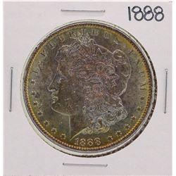 1888 $1 Morgan Silver Dollar Coin Nice Toning