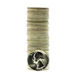 Roll of (40) Proof 1964 Washington Quarter Coins