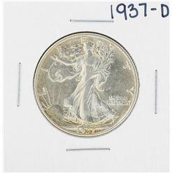 1937-D Walking Liberty Half Dollar Coin