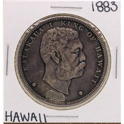 1883 $1 Kingdom of Hawaii Silver Dollar Coin Soldered