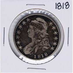 1818 Capped Bust Half Dollar Coin