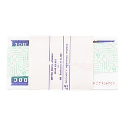 Pack of (100) Consecutive Myanmar 100 Kyats Uncirculated Notes
