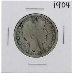 1904 Barber Half Dollar Coin