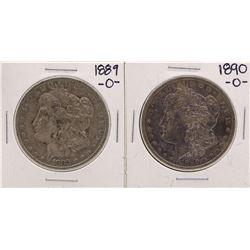 Lot of 1889-O & 1890-O $1 Morgan Silver Dollar Coins