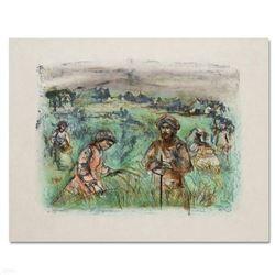 Fields Near Chartres by Hibel (1917-2014)