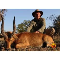 Zambia Safari for Two Hunters, includes 2 Puku, 2 Warthogs, 2 Impala