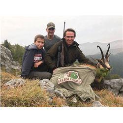 Alpine Chamois Hunt in France