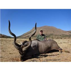 Eastern Cape Kudu and Gemsbok