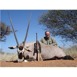 Namibia Safari, Two Hunters, Two Non-Hunters, Two Oryx, Two Impala, Two Warthogs,
