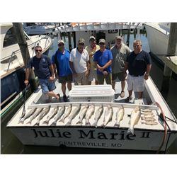 Chesapeake Bay Fishing Trip for Six