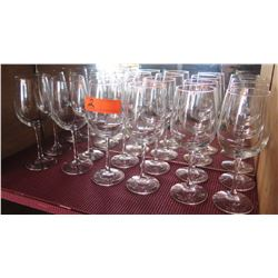 Qty 12 Wine Glasses