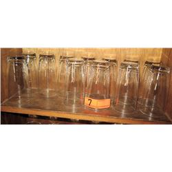 Qty 12 Tall Beverage Glasses