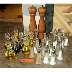 Misc. Salt & Pepper Mills, Shakers, Olive Oil & Balsamic Vinegar Flasks