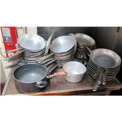 Large Lot of Misc. Cooking Pots and Pans
