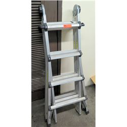 17 Foot Multi-Position Folding Ladder