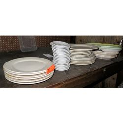 Misc. Plates (Various  Sizes)