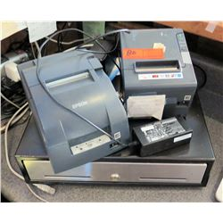 Epson Receipt Printer, Credit card Receipt Printer, Cash Drawer