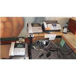 Misc. Telephones and Fax Machine