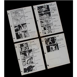 Back to the Future - Set of Production Used Storyboard Prints - 1067