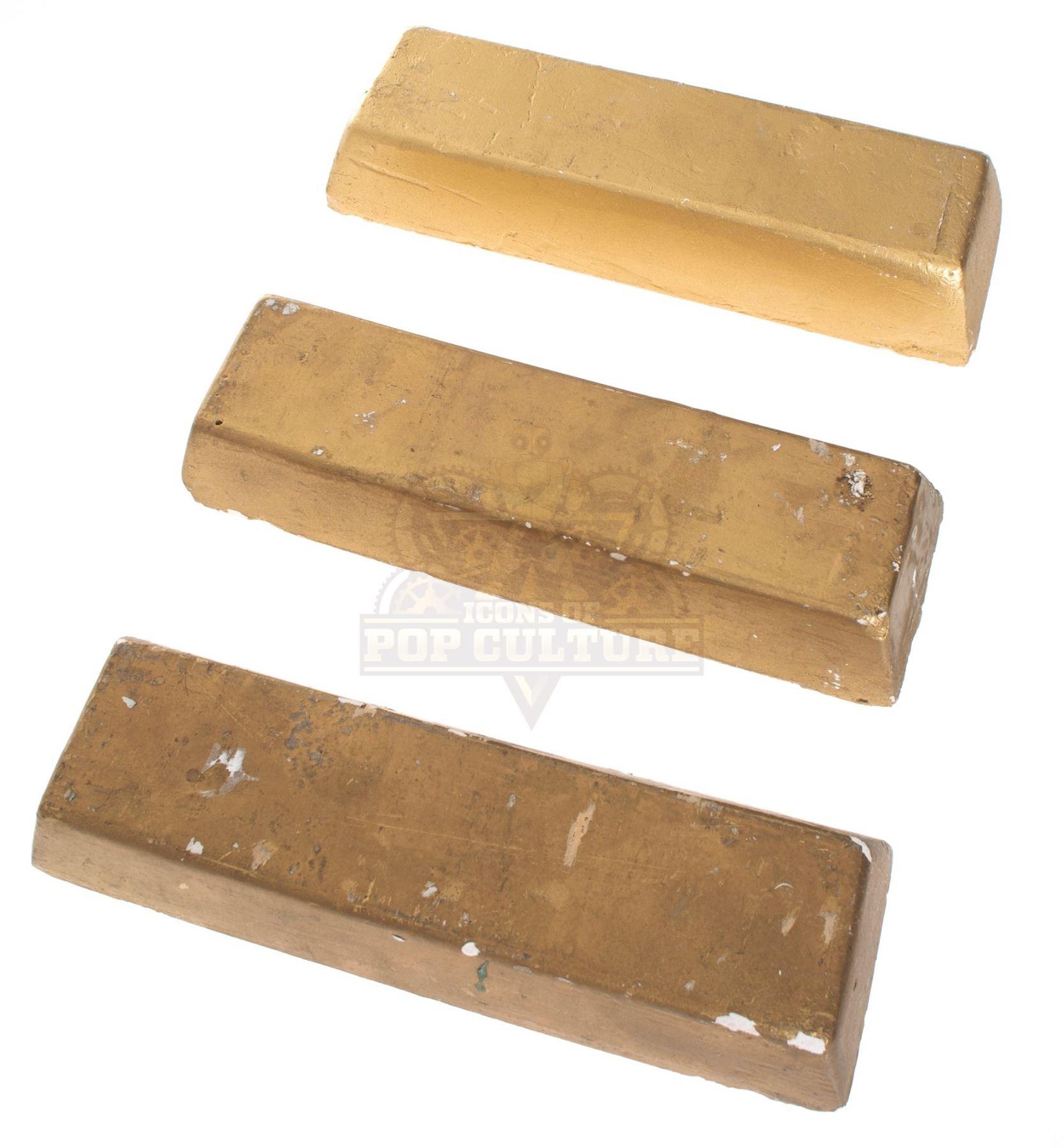 Goldfinger - Fort Knox Gold Bars - 1042