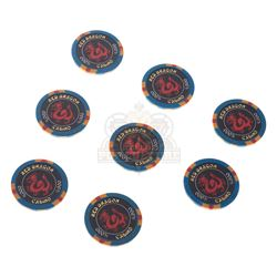 "Rush Hour 2 - ""Red Dragon"" Casino Chips - 1065"
