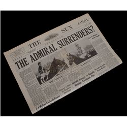 Seabiscuit - Prop Newspaper - 1041