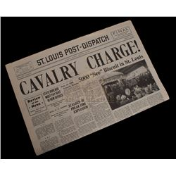 Seabiscuit - Prop Newspaper - 1077