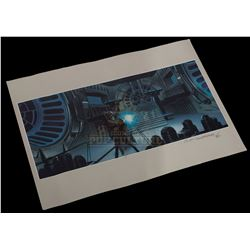 Star Wars: Return of the Jedi - Ralph McQuarrie Signed Print - 1012