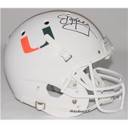 Jim Kelly Signed University of Miami Full-Size Helmet (Radtke COA)