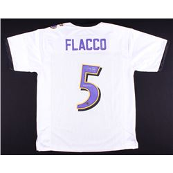 "Joe Flacco Signed Ravens Jersey Inscribed ""SB XLVII MVP"" (Radtke COA)"