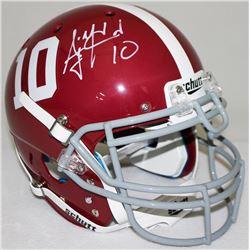AJ McCarron Signed Alabama Crimson Tide Full-Size Authentic Helmet (Radtke COA)