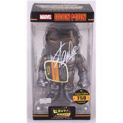 """Stan Lee Signed """"Iron Man Raw Steel"""" Marvel Hikari Vinyl Action Figure (Radtke COA)"""