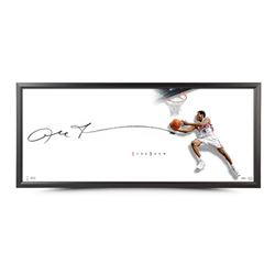 """Allen Iverson Signed The Show """"The Reverse"""" 43x20 Custom Framed Lithograph (UDA COA)"""