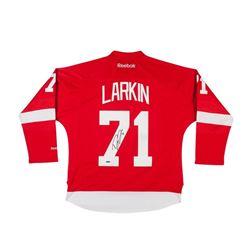 Dylan Larkin Signed Red Wings Reebok Premier Jersey (UDA COA)