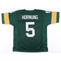 Paul Hornung Signed Packers Jersey (JSA COA)