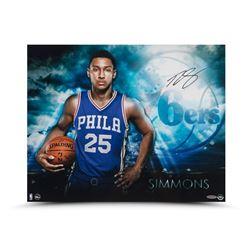 "Ben Simmons Signed 76ers ""Ready"" 16x20 Photo (UDA COA)"