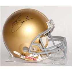 Tim Brown Signed Notre Dame Fighting Irish Full-Size Authentic Pro-Line Helmet (Steiner COA  Brown H
