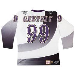 Wayne Gretzky Signed Kings Authentic 1995-96 Mitchell  Ness Jersey (UDA COA)