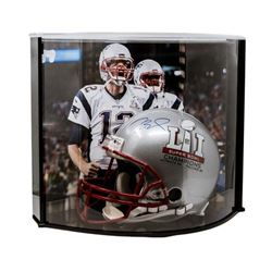 """Tom Brady Signed Patriots """"Super Bowl 51 Champions"""" Full-Size Authentic Pro-Line Speed Helmet with C"""