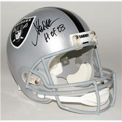 "Marcus Allen Signed Raiders Full-Size Helmet Inscribed ""HOF 03"" (JSA COA)"