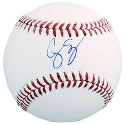 Corey Seager Signed OML Baseball (MLB Hologram  Fanatics Hologram)