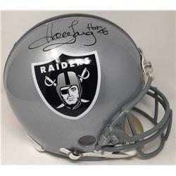 "Howie Long Signed LE Raiders Full-Size Authentic On-Field Helmet Inscribed ""HOF 00"" (Steiner COA)"