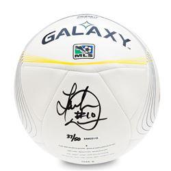 Landon Donovan Signed L.A. Galaxy Adidas Tropheo Replica Match Ball (UDA COA)