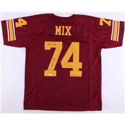 "Ron Mix Signed USC Trojans Jersey Inscribed ""HOF 1979"" (JSA COA)"